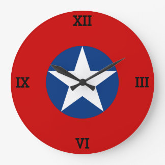Roundel de Chile Clocks