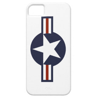 Roundel of the Air Force iPhone 5 Covers