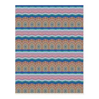 ROUNDS Chakra Blue SPARKLE Strip Elegant GIFTS Postcard