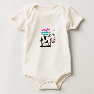 Roupinha Bebê: Alergia a Leite Baby Bodysuit