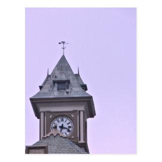 Rouss City Hall at Twilight Postcard