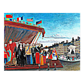 Rousseau art:The Representatives of Foreign Powers Postcard