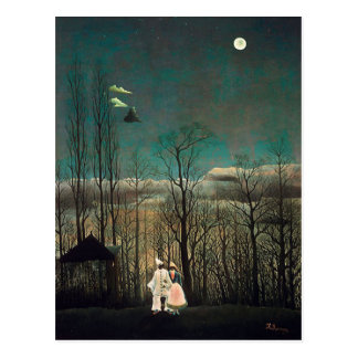 Rousseau Carnival Evening Postcard