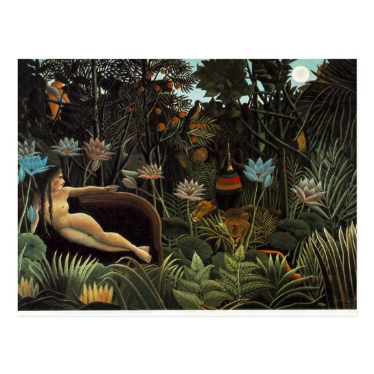 rousseau.dream postcard