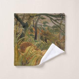 Rousseau's Tiger art wash cloth