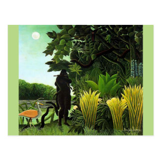 Rousseau Snake Charmer Postcard