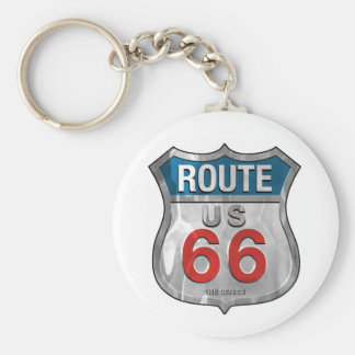 Route66 Keychain
