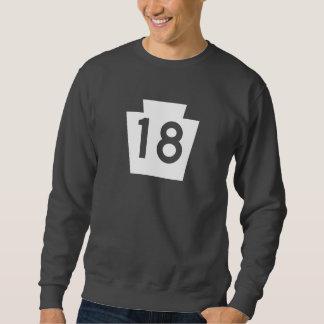 Route 18, Pennsylvania, USA Sweatshirt