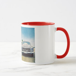 Route 1, Key West, Florida Retro Vintage Mug