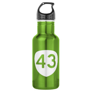 Route 43, Oregon, USA 532 Ml Water Bottle