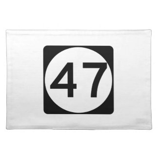 Route 47, New Jersey, USA Place Mats