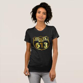 Route 613 - Women's Gold T-Shirt
