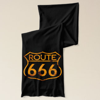Route 666 scarf