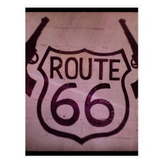 Route 66, 2 Guns, Arizona Postcard