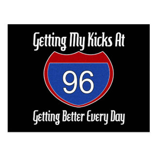 Route 66 96th Birthday Postcard