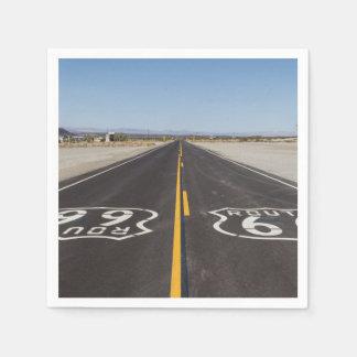 Route 66, Amboy (California, USA) Paper Napkins
