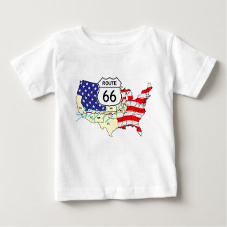 Route 66 baby T-Shirt