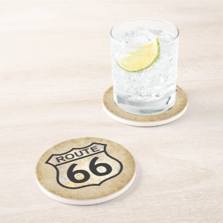 Route 66 beverage coasters