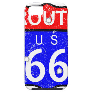 Route 66 Bullet Holes iPhone 5 Covers