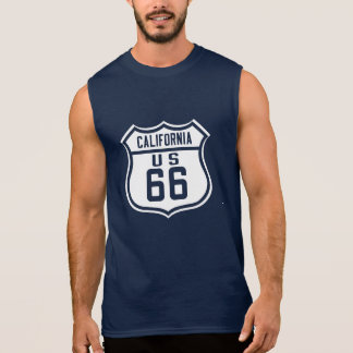 Route 66 - California. Sleeveless Shirt