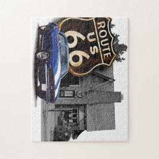 Route 66 Camaro Jigsaw Puzzle