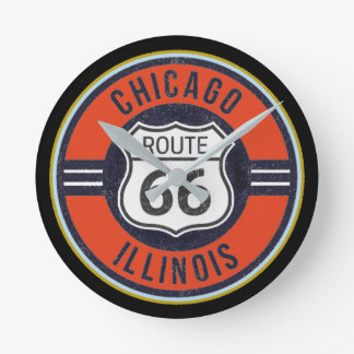 ROUTE 66 CHICAGO - Clock