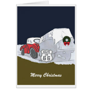 Route 66 Christmas Card