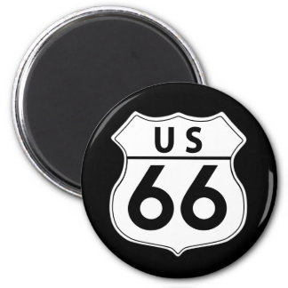 Route 66 Classic Road Sign Magnet