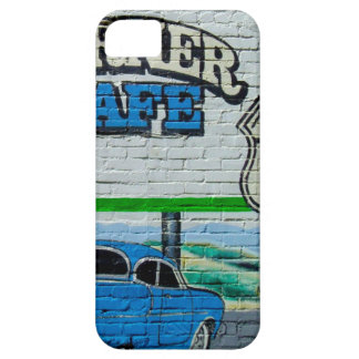 Route 66 Corner Cafe Wall iPhone 5 Case
