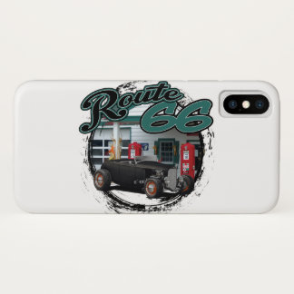 Route 66 Deuce iPhone X Case