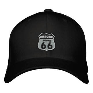 Route 66 embroidered hat