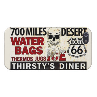 """Route 66 Festival """"Thirsty's Diner"""" iPhone 5/5s iPhone 5 Cover"""