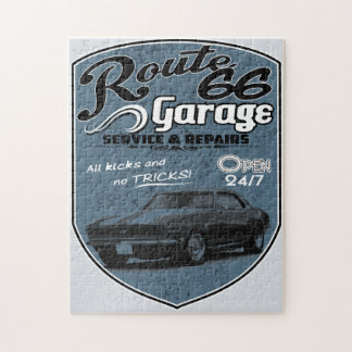 Route 66 Garage Jigsaw Puzzle