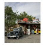 Route 66 General Store & Gas Station Poster