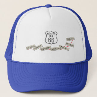 Route 66 gifts trucker hat
