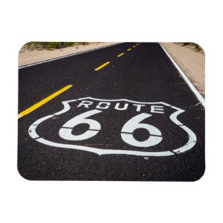 Route 66 highway marker, Arizona Rectangular Photo Magnet