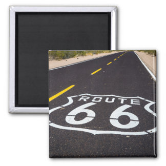 Route 66 highway marker, Arizona Square Magnet