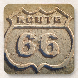 Route 66 historic sign, Arizona Coaster