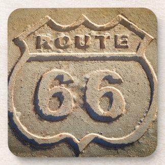 Route 66 historic sign, Arizona Drink Coasters