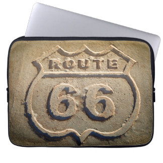 Route 66 historic sign, Arizona Laptop Sleeves