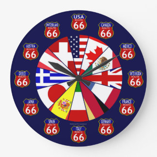Route 66 International Clock