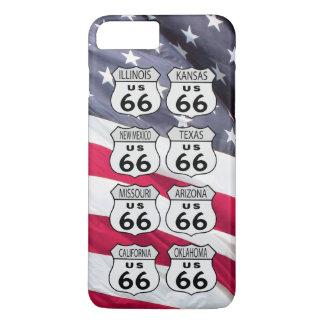 Route 66 iPhone 7 plus case
