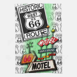 ROUTE 66 Kitchen, Bar or Bath TOWELS 2