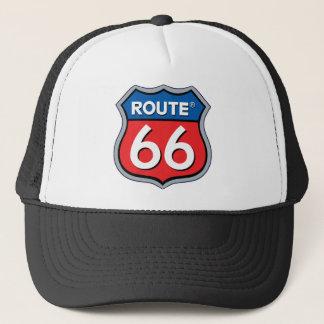 Route 66 Logo Trucker Hat