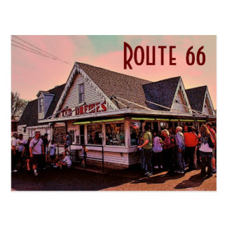 Route 66 (Missouri) Postcard
