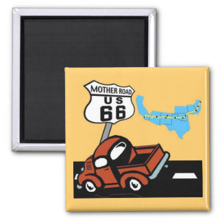 Route 66 - Mother Road Magnet