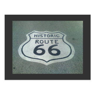 Route 66 Mother Road Postcard
