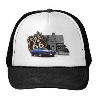 Route 66 Muscle Car Trucker Hat