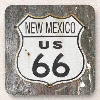 Route 66 New Mexico Beverage Coaster