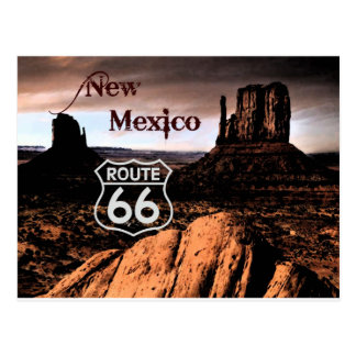 Route 66 new Mexico Postcard